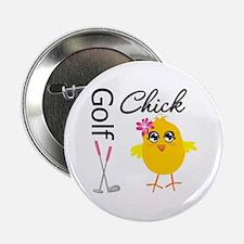 """Golf Chick v2 2.25"""" Button"""