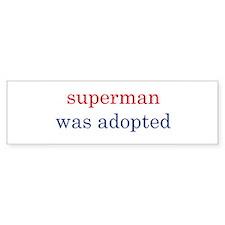 superman bumper sticker