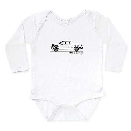 2010 Ford F 150 Pickup Truck Long Sleeve Infant Bo