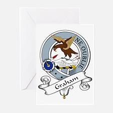 Graham Clan Badge Greeting Cards (Pk of 10)
