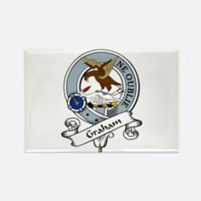 Graham Clan Badge Rectangle Magnet (10 pack)