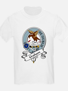Graham Clan Badge Kids T-Shirt