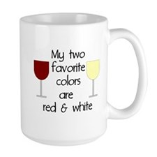 My two favorite colors are re Mug