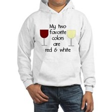My two favorite colors are re Hoodie