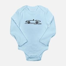 Jaguar E-Type Roadster Long Sleeve Infant Bodysuit