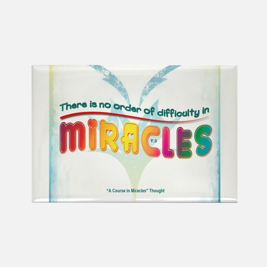 ACIM-No Order of Difficulty Rectangle Magnet