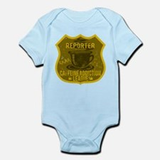 Reporter Caffeine Addiction Infant Bodysuit