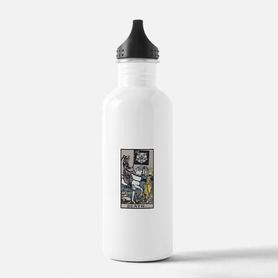 Death Tarot Water Bottle
