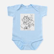 Catoons™ Doctor Cat Infant Bodysuit