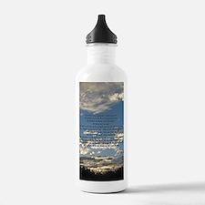 Beautiful Psalm 23 Sports Water Bottle