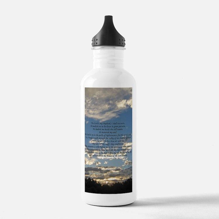Beautiful Psalm 23 Water Bottle