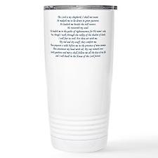 Beautiful Psalm 23 Travel Mug