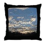 Beautiful Psalm 23 Throw Pillow