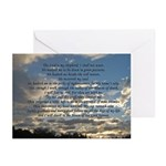 Beautiful Psalm 23 Greeting Cards (Pk of 20)