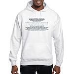 Beautiful Psalm 23 Hooded Sweatshirt