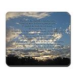 Beautiful Psalm 23 Mousepad