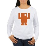 Pixel Dancer Women's Long Sleeve T-Shirt