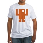 Pixel Dancer Fitted T-Shirt