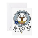 Gordon Clan Badge Greeting Cards (Pk of 10)