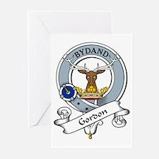 Gordon Clan Badge Greeting Cards (Pk of 10)