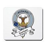 Gordon Clan Badge Mousepad
