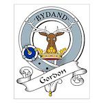 Gordon Clan Badge Small Poster