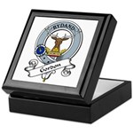 Gordon Clan Badge Keepsake Box