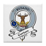 Gordon Clan Badge Tile Coaster