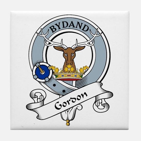Gordon Clan Badge Tile Coaster