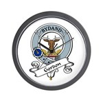 Gordon Clan Badge Wall Clock