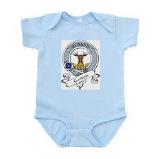 Gordon Clan Badge Infant Creeper