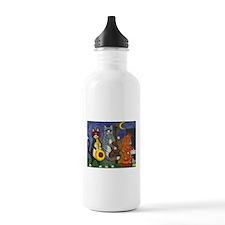 Jazz Cats Water Bottle