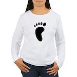 Foot Print Women's Long Sleeve T-Shirt