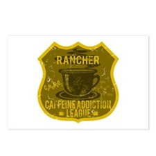 Rancher Caffeine Addiction Postcards (Package of 8