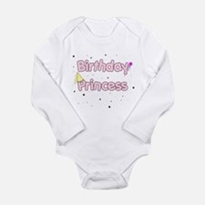 BIRTHDAY PRINCESS Long Sleeve Infant Bodysuit