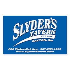 Slyder's Tavern Decal