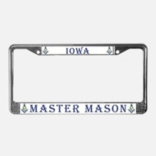Iowa Masons License Plate Frame