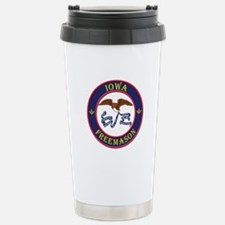 Iowa Masons Travel Mug