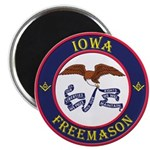 Iowa Masons Magnet