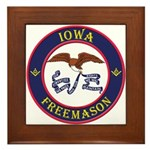 Iowa Masons Framed Tile