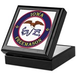 Iowa Masons Keepsake Box