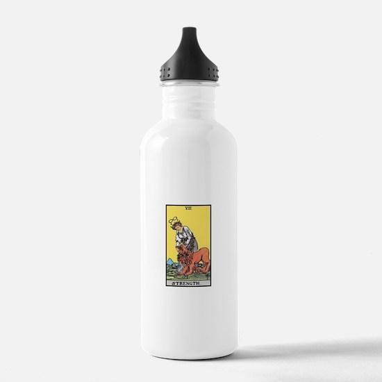 Strength Tarot Water Bottle