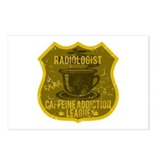 Radiologist Caffeine Addiction Postcards (Package