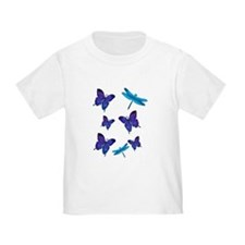 Purple Butterfly T