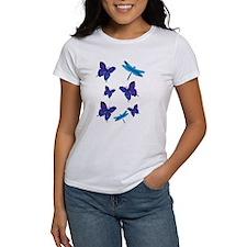 Purple Butterfly Tee