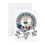 Glass Clan Badge Greeting Cards (Pk of 10)