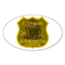 Psych Major Caffeine Addiction Decal