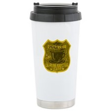 Psych Major Caffeine Addiction Travel Mug