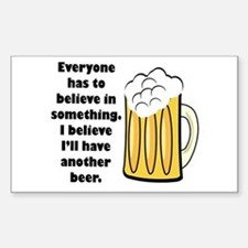 another beer Sticker (Rectangle)