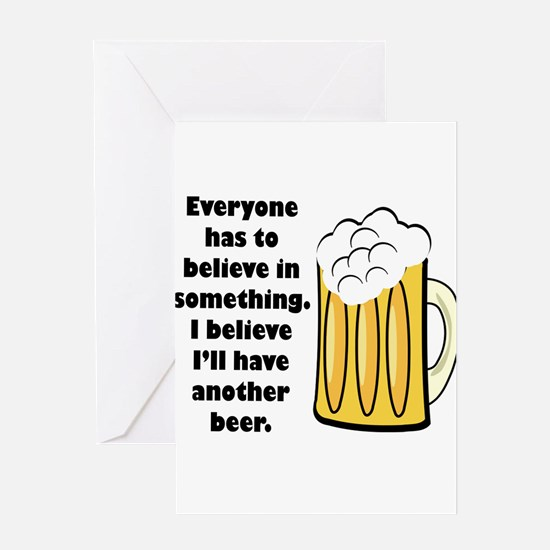 another beer Greeting Card
